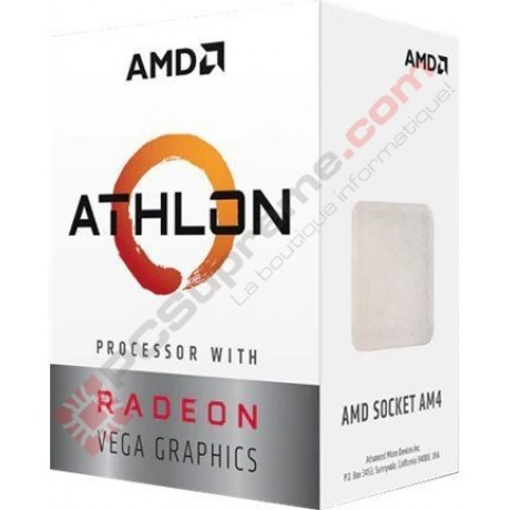AMD Athlon 3000G 2(4) 3.50GHz /4MB Vega 3 + Fan