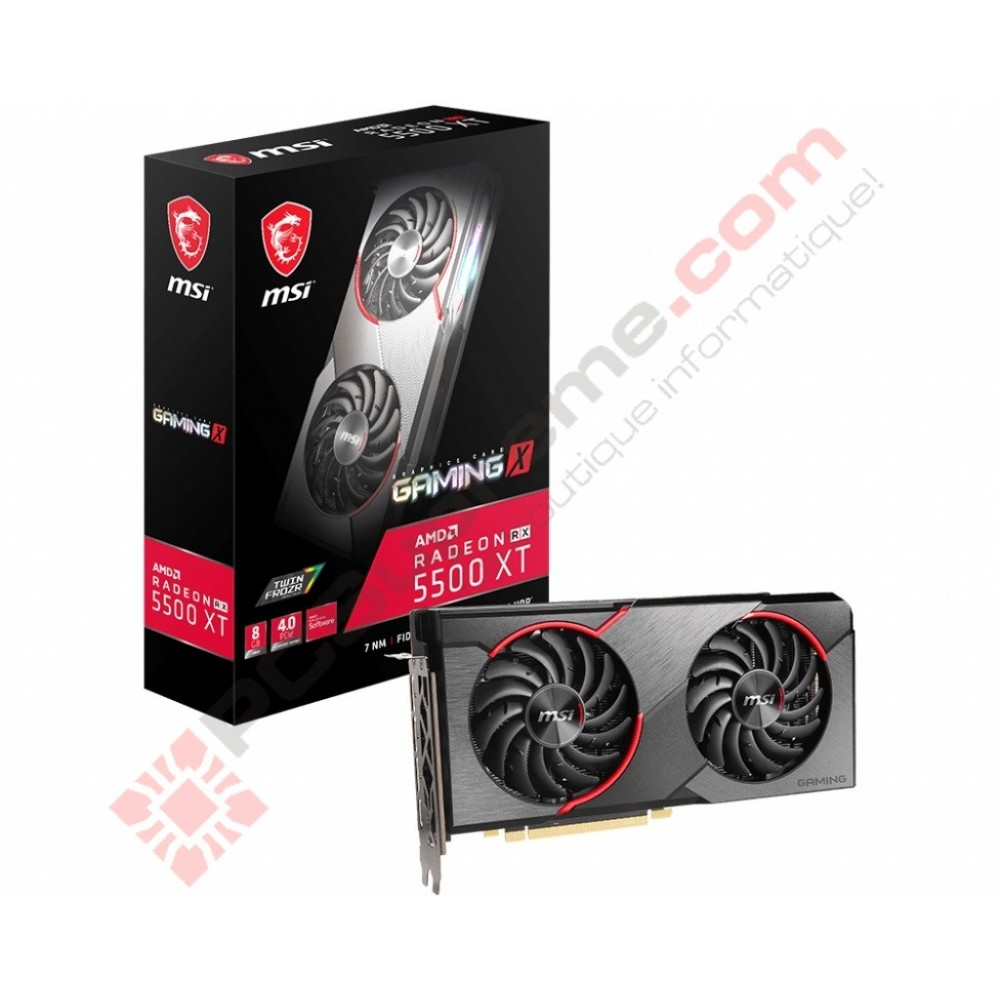 MSI AMD RX 5500 XT Gaming X 8GB