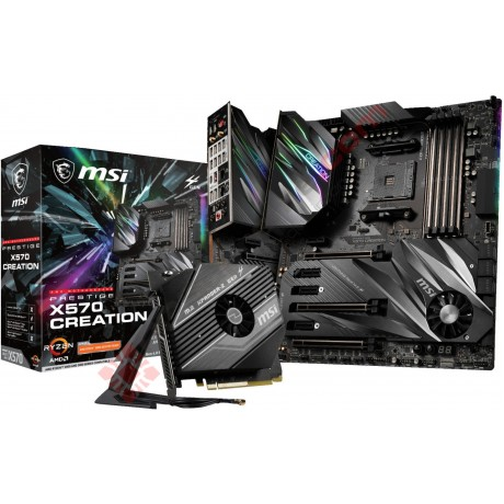 MSI Prestige X570 Creation eATX