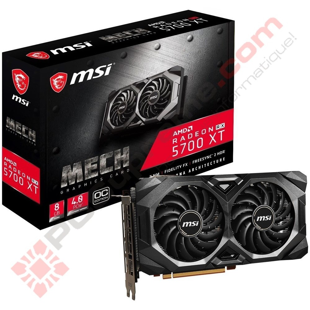 MSI AMD RX 5600 XT MECH 6GB Overclocked